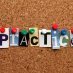 Practice vs. Practish